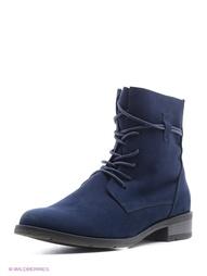 Синие Ботинки Marco Tozzi