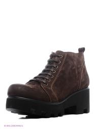 Коричневые Ботинки Makfly