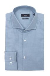 Хлопковая рубашка Hugo Boss