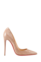 Туфли из кожи змеи So Kate 120 Christian Louboutin