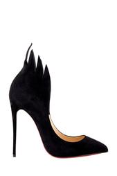 Черные Замшевые туфли Victorina 120 Christian Louboutin