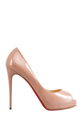 Туфли из лакированной кожи New Very Prive 120 Christian Louboutin