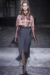 Шерстяная юбка Nina Ricci