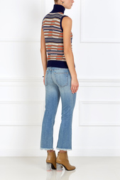 Расклешенные джинсы Current/Elliott