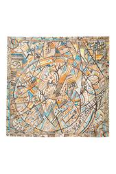 Шелковый платок «Формула Вселенной» Radical Chic