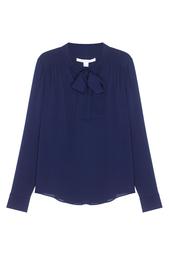 Шелковая блузка Britni Diane von Furstenberg
