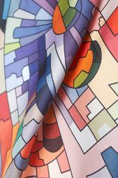 Шелковый платок «Астры» Radical Chic