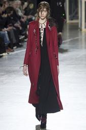 Шерстяное пальто Christopher Kane