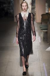 Платье с пайетками Rosalyn Erdem