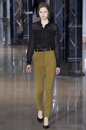 Полупрозрачная блузка Anthony Vaccarello