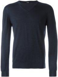 свитер с V-образным вырезом Kiton