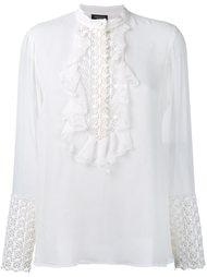 блузка с вышивкой  Giambattista Valli