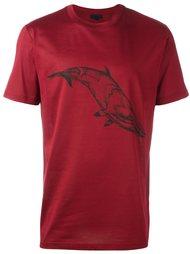 футболка с принтом кита Lanvin