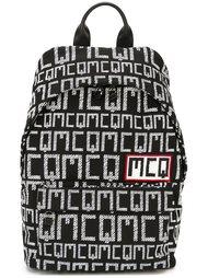 рюкзак с принтом логотипа McQ Alexander McQueen