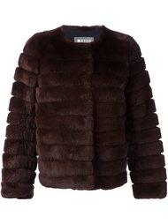 меховая куртка Meteo By Yves Salomon