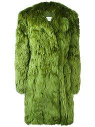 меховое пальто Maison Margiela