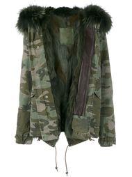камуфляжная куртка с меховой отделкой Mr & Mrs Italy
