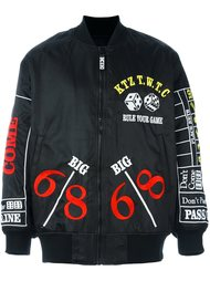 куртка-бомбер 'Rule your game' KTZ