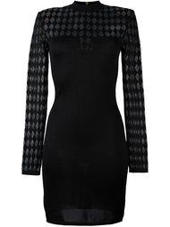 вязаное платье  Balmain