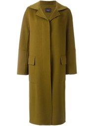 длинное пальто  Odeeh