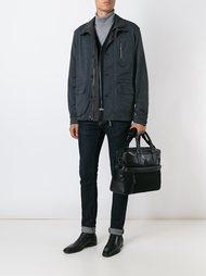 кожаная сумка для ноутбука Canali