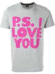 футболка 'PS I love you'  Ps By Paul Smith