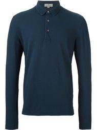 футболка-поло с длинными рукавами  Canali