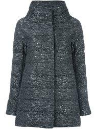 стеганая куртка декорированная пайетками Herno