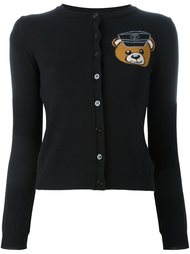 кардиган 'biker teddy bear' Moschino