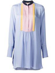 платье-шифт с нагрудником Roksanda