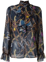 блузка с узором Blugirl