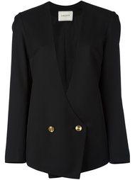 пиджак с запахом и застежкой на пуговицы Lanvin
