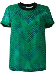 футболка с принтом узора Diane Von Furstenberg