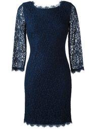 короткое кружевное платье Diane Von Furstenberg