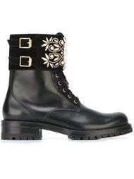 декорированные ботинки  René Caovilla