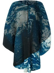плиссированное платье  Issey Miyake