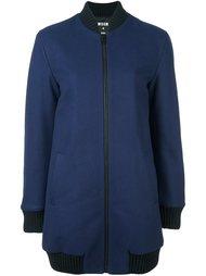 объемная куртка-бомбер MSGM