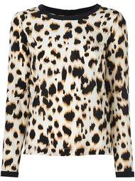 блузка с животным принтом Steffen Schraut