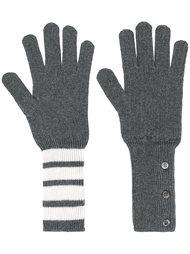 вязаные перчатки Thom Browne
