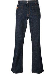 расклешенные джинсы Walter Van Beirendonck Vintage