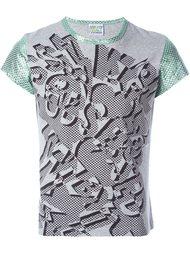 футболка с абстрактным принтом  Walter Van Beirendonck Vintage