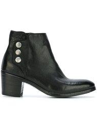 ботинки на массивном каблуке  Alberto Fasciani