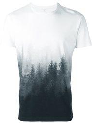 футболка с принтом леса Orlebar Brown