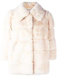 куртка из кроличьего меха Yves Salomon