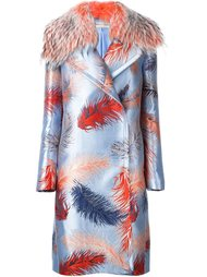 пальто с вышивкой Emilio Pucci