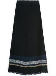 юбка с необработанными краями   Sonia Rykiel