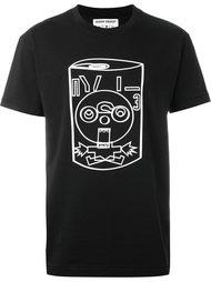 футболка с принтом Henrik Vibskov