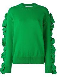 свитер с оборками  Victoria Victoria Beckham