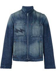 джинсовая куртка с линялым эффектом  Walter Van Beirendonck Vintage