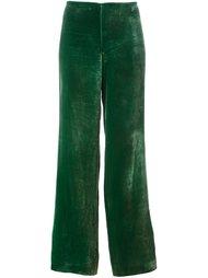 бархатные брюки Jean Paul Gaultier Vintage